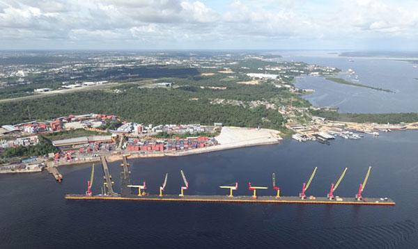 Manaus amplia e se torna o maior cais de porto flutuante do Brasil!
